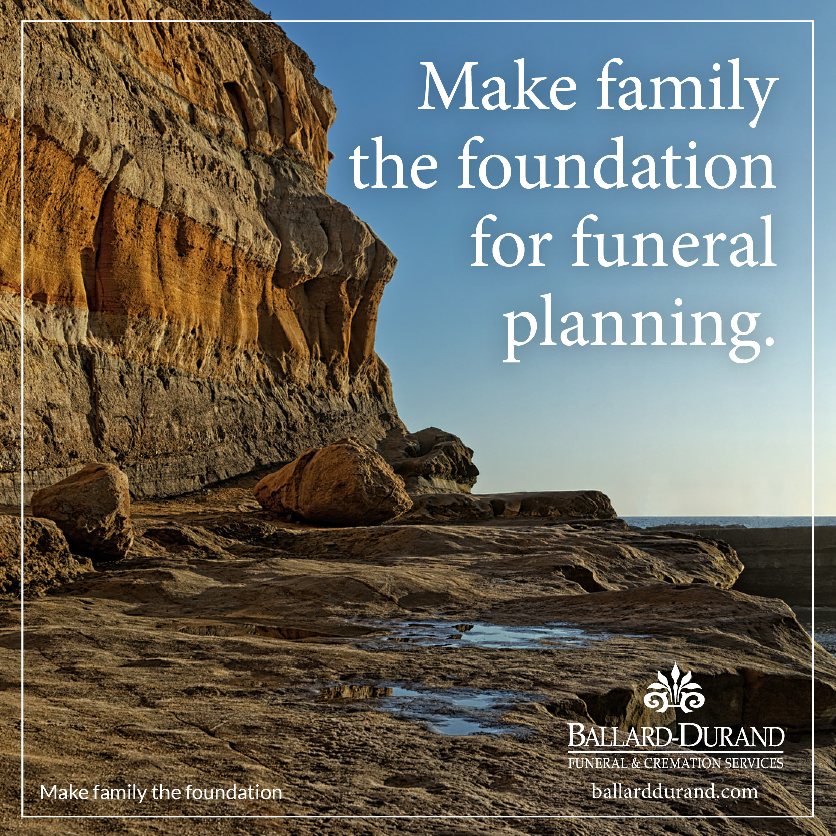 There are two ways to take care of funeral planning: 1) you can plan your own funeral in advance or 2) your survivors can plan your funeral for you after your death.