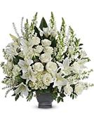 Elegant White Basket