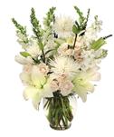 White & Pink Vase Arrangement