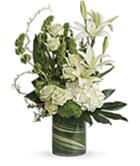 Elegant White Vase Arrangement